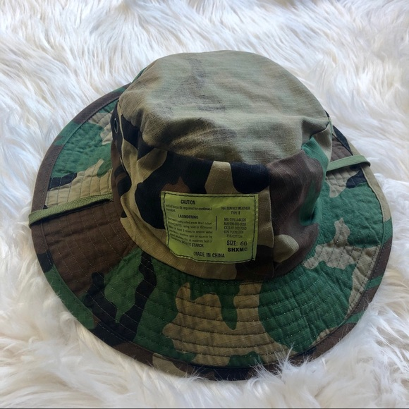 Other - 4 FOR $20! Camo Printed Safari Style Bucket Hat.
